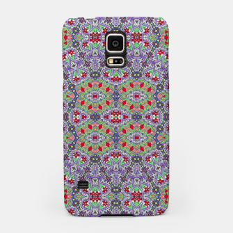 Miniatur Colorful Embroidery Folk Pattern Samsung Case, Live Heroes