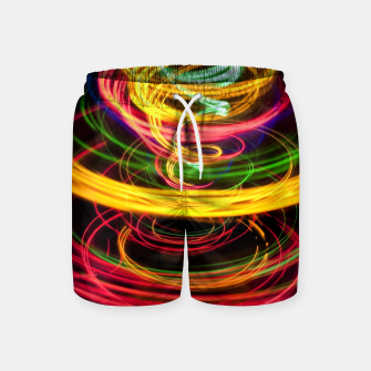 Thumbnail image of Abstract Rings Swim Shorts, Live Heroes