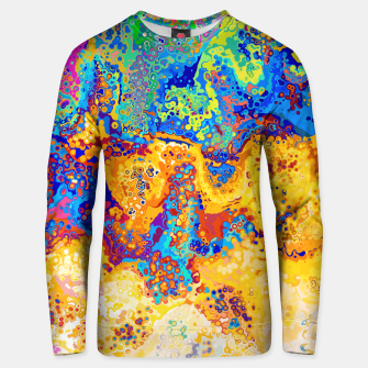 Thumbnail image of Colorful Cells Design Unisex sweater, Live Heroes