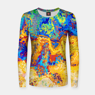 Thumbnail image of Colorful Cells Design Women sweater, Live Heroes