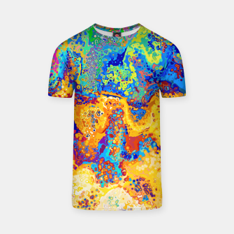 Thumbnail image of Colorful Cells Design T-shirt, Live Heroes
