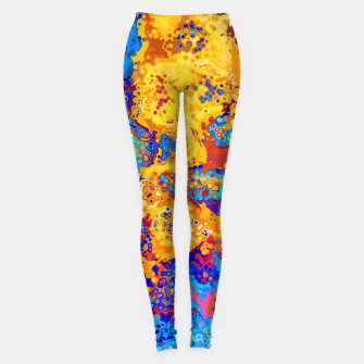 Thumbnail image of Colorful Cells Design Leggings, Live Heroes