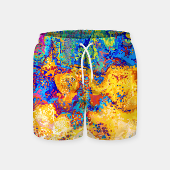 Thumbnail image of Colorful Cells Design Swim Shorts, Live Heroes