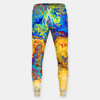 Thumbnail image of Colorful Cells Design Sweatpants, Live Heroes