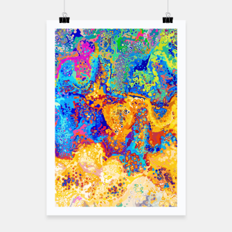 Thumbnail image of Colorful Cells Design Poster, Live Heroes