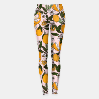 Thumbnail image of Succulent sweets oranges Leggings, Live Heroes