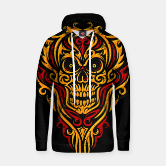 Thumbnail image of Skull Winged Ornate - Grunge Color Hoodie, Live Heroes