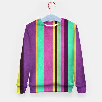Imagen en miniatura de Lines and Rectangles Kid's sweater, Live Heroes