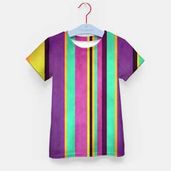 Imagen en miniatura de Lines and Rectangles Kid's t-shirt, Live Heroes