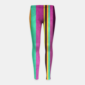 Imagen en miniatura de Lines and Rectangles Girl's leggings, Live Heroes