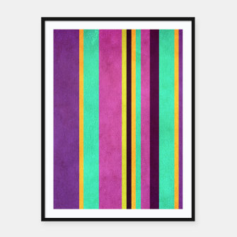 Miniature de image de Lines and Rectangles Framed poster, Live Heroes