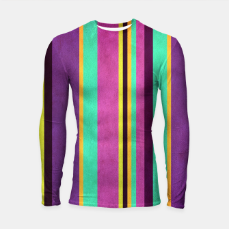 Thumbnail image of Lines and Rectangles Longsleeve rashguard , Live Heroes