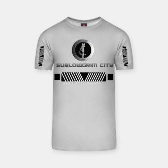 Thumbnail image of SublowGrim City Grey V.2 T-Shirt, Live Heroes