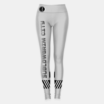 Miniaturka SublowGrim City Grey V.2 Sports Leggings, Live Heroes