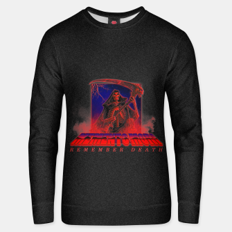 Thumbnail image of VHS Memento Mori Unisex sweater, Live Heroes