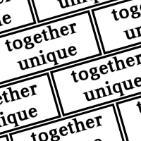 Together Unique logo