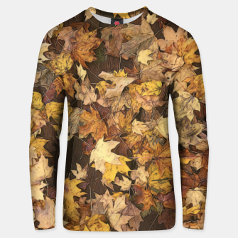 Thumbnail image of Late Fall Leaves 3 Unisex sweater, Live Heroes