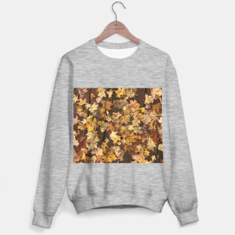 Thumbnail image of Late Fall Leaves 3 Sweater regular, Live Heroes