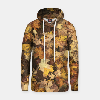 Thumbnail image of Late Fall Leaves 3 Hoodie, Live Heroes