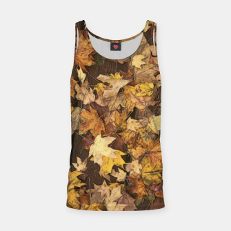 Thumbnail image of Late Fall Leaves 3 Tank Top, Live Heroes