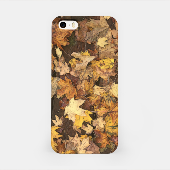 Thumbnail image of Late Fall Leaves 3 iPhone Case, Live Heroes