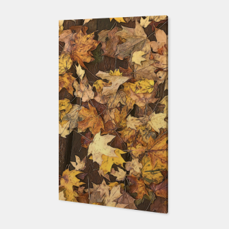 Thumbnail image of Late Fall Leaves 3 Canvas, Live Heroes