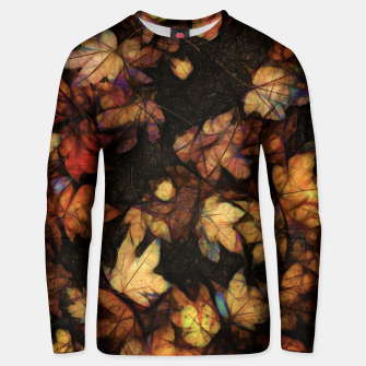 Miniatur Late Fall Leaves 4 Unisex sweater, Live Heroes
