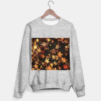 Miniatur Late Fall Leaves 4 Sweater regular, Live Heroes