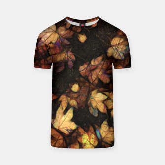 Miniatur Late Fall Leaves 4 T-shirt, Live Heroes