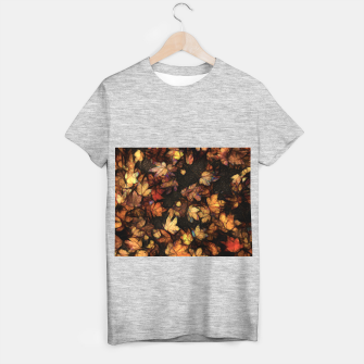 Thumbnail image of Late Fall Leaves 4 T-shirt regular, Live Heroes