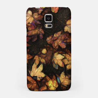 Miniatur Late Fall Leaves 4 Samsung Case, Live Heroes