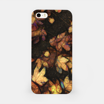 Miniatur Late Fall Leaves 4 iPhone Case, Live Heroes