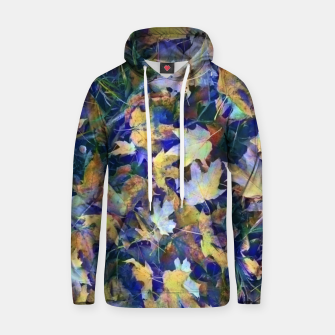 Thumbnail image of Late Fall leaves In Blue Hoodie, Live Heroes