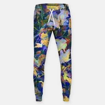 Miniatur Late Fall leaves In Blue Sweatpants, Live Heroes