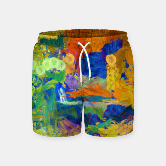 Thumbnail image of BLUE MOON Swim Shorts, Live Heroes