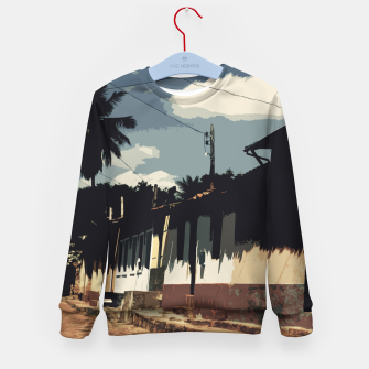 Thumbnail image of Brazil Street Kid's sweater, Live Heroes