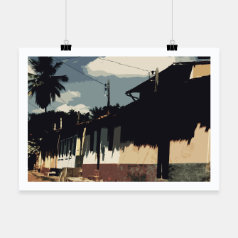 Thumbnail image of Brazil Street Poster, Live Heroes