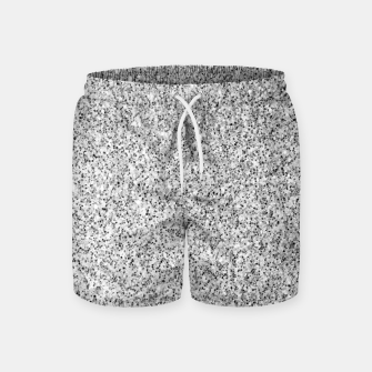 Beautiful Silver glitter sparkles Swim Shorts thumbnail image