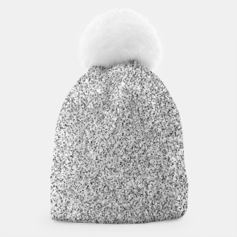 Thumbnail image of Beautiful Silver glitter sparkles Beanie, Live Heroes