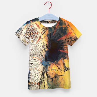 Thumbnail image of ELEPHANT Kid's t-shirt, Live Heroes