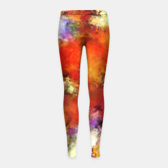 Miniaturka Escape velocity Girl's leggings, Live Heroes
