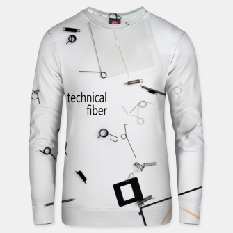 Thumbnail image of technical fiber Unisex sweater, Live Heroes