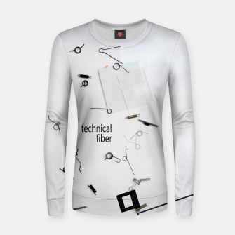Thumbnail image of technical fiber Women sweater, Live Heroes