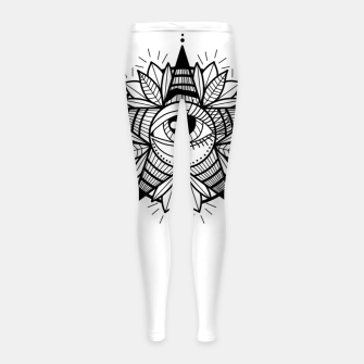 Thumbnail image of WE ARE STARS Leggings para niña, Live Heroes