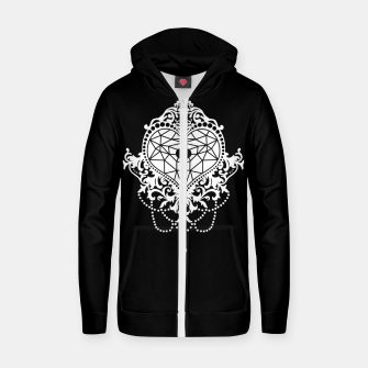 Thumbnail image of RICH BY HEART Sudadera con capucha y cremallera , Live Heroes