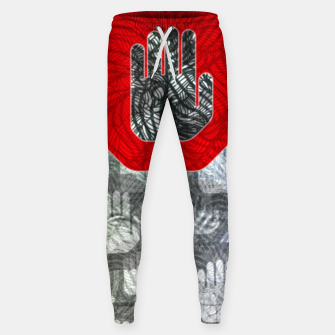 Thumbnail image of STOP Sweatpants, Live Heroes