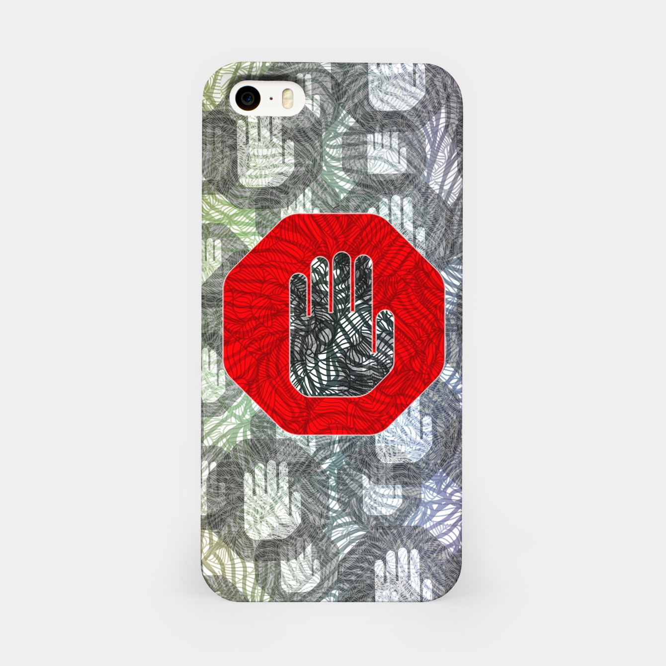 Image of STOP iPhone Case - Live Heroes