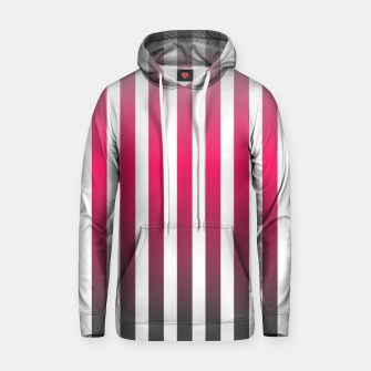 Thumbnail image of Vertical pinstripes in warm color scheme Hoodie, Live Heroes