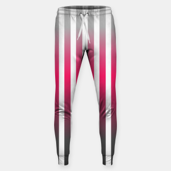 Imagen en miniatura de Vertical pinstripes in warm color scheme Sweatpants, Live Heroes