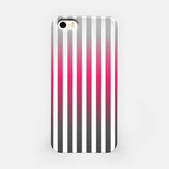 Imagen en miniatura de Vertical pinstripes in warm color scheme iPhone Case, Live Heroes